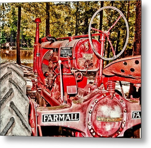 Robert Frederick - Flash On Farmall Print