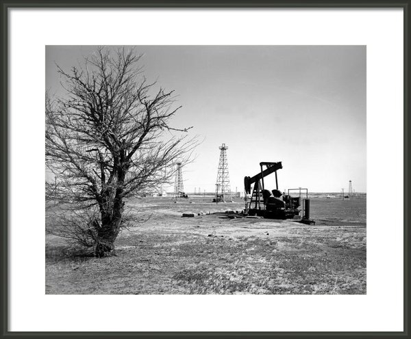 Larry Keahey - Oklahoma Oil Field Print