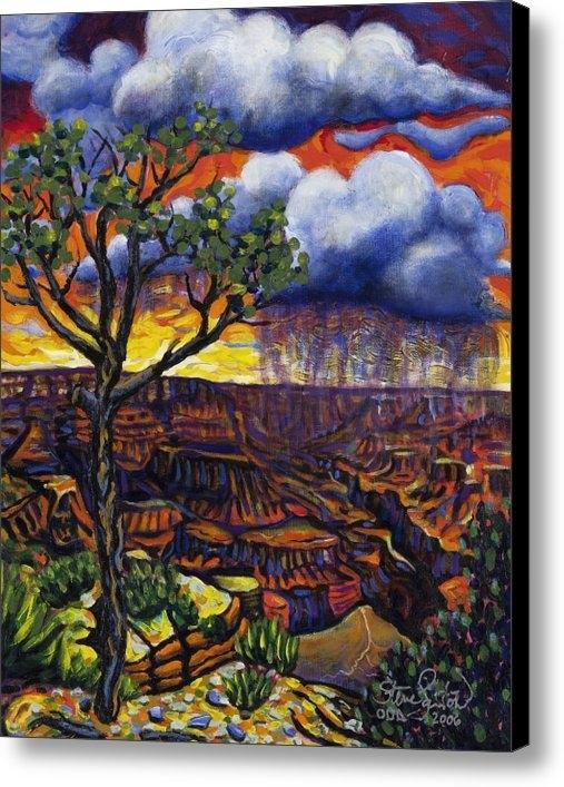 Steve Lawton - LoneTree at Grand Canyon Print