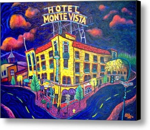 Steve Lawton - Historic Monte Vista Hote... Print