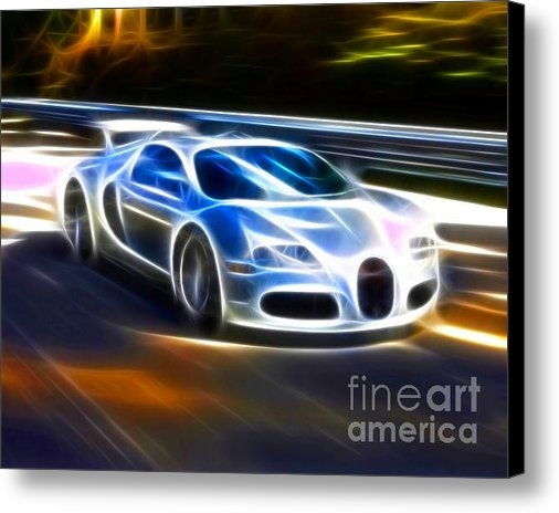 Pamela Johnson - Veyron - Bugatti Print