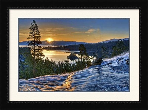 Maria Coulson - Tahoe Sunrise Print