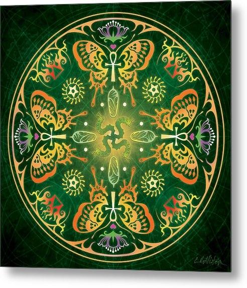 Cristina McAllister - Metamorphosis Mandala Print