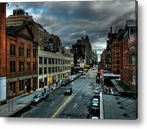 Lance Vaughn - NYC - High Line - Meatpac... Print