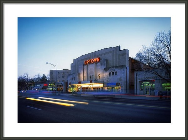Mountain Dreams - Uptown Theatre in Washing... Print