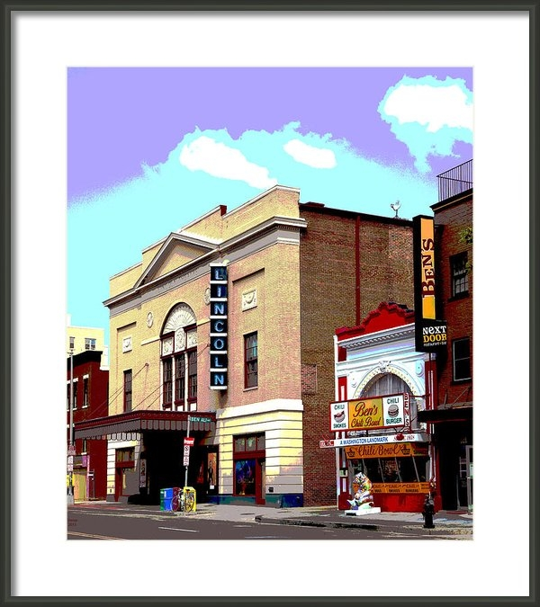 Charles Shoup - Lincoln Theatre Print