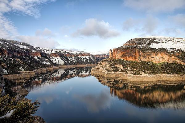 David Palmer - Bighorn Lake Reflections Print