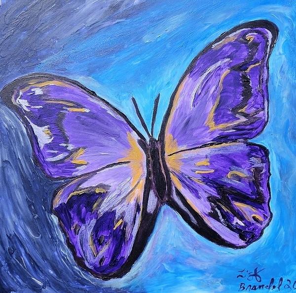 Lisa Brandel - Flutterby bring the light Print