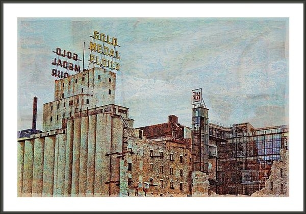 Susan Stone - Mill District Minneapolis Print