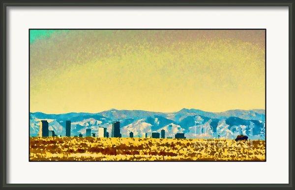 Catherine Fenner - City on the Plains Print