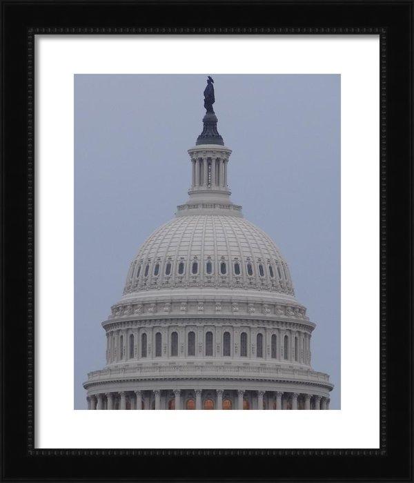 Christopher Kerby  - US Capitol Dusk Print
