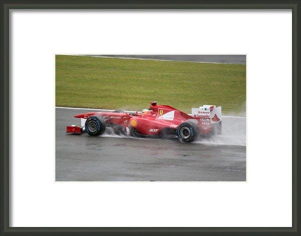 Kieran Brimson - Fernando Alonso Print