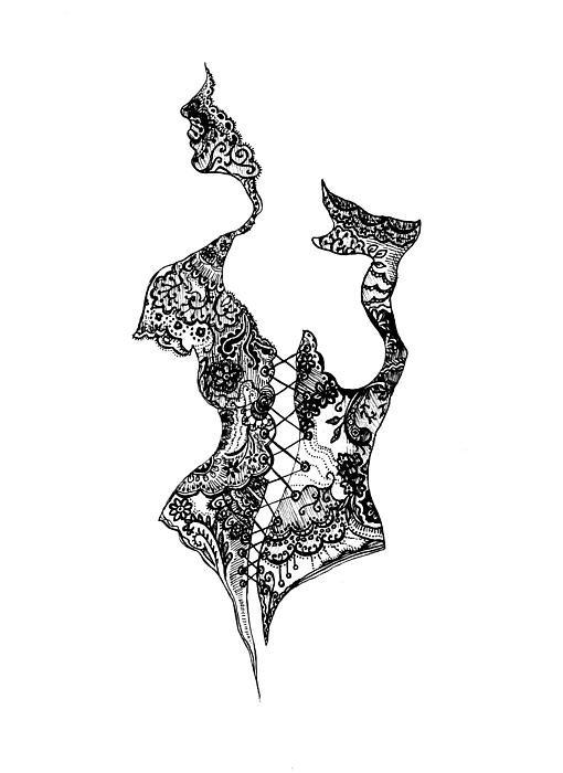 Iris Moore - Bodice Print