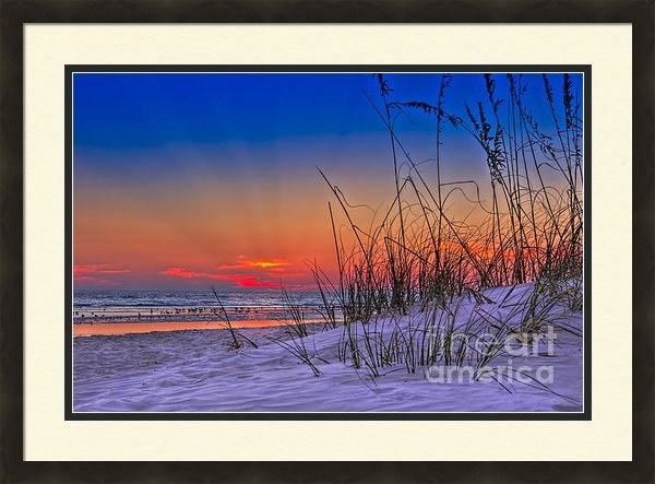 Marvin Spates - Sand and Sea Print