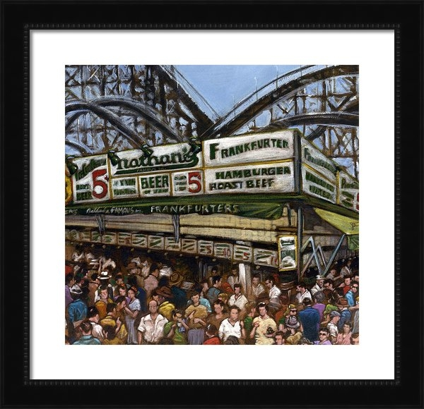 Ted Papoulas - Coney Island Print