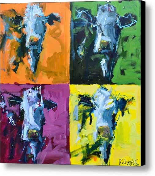 Robert Joyner - Warhol Cows Print