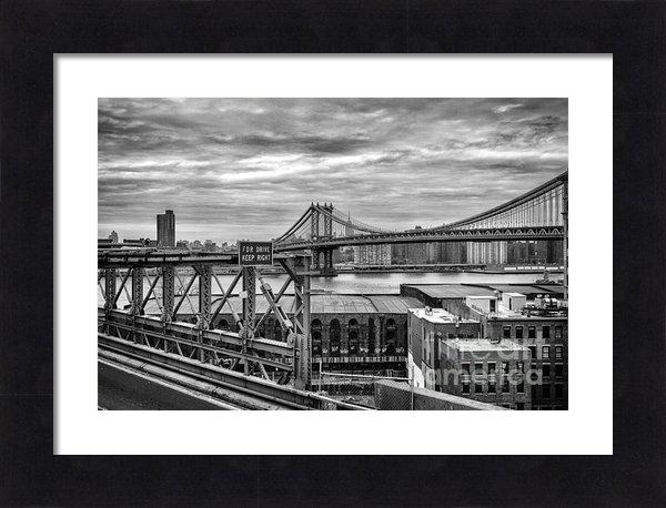 John Farnan - Manhattan Bridge Print