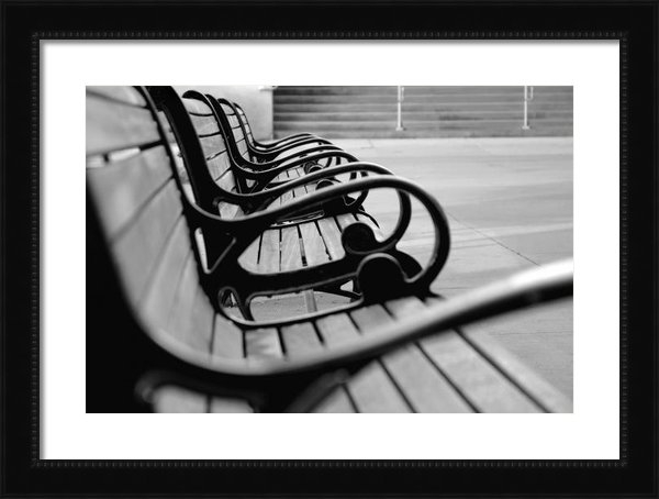 Dan Holm - Benches Print