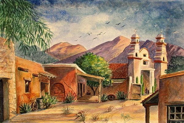 Marilyn Smith - Old Tucson Print