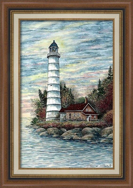 Steven Schultz - Cana Island Light Print