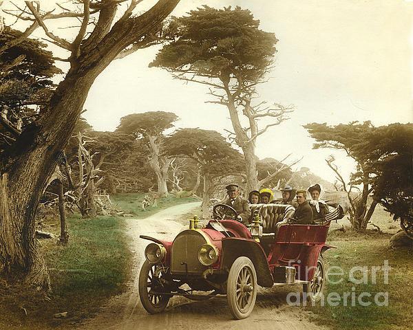 California Views Mr Pat Hathaway Archives - Royal Tourist touring car... Print