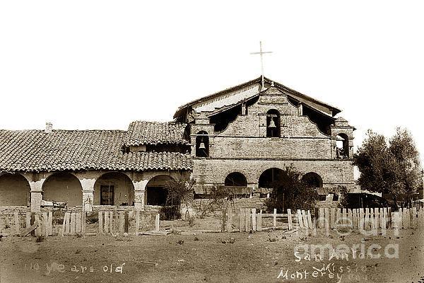 California Views Mr Pat Hathaway Archives - Mission San Antonio de Pa... Print