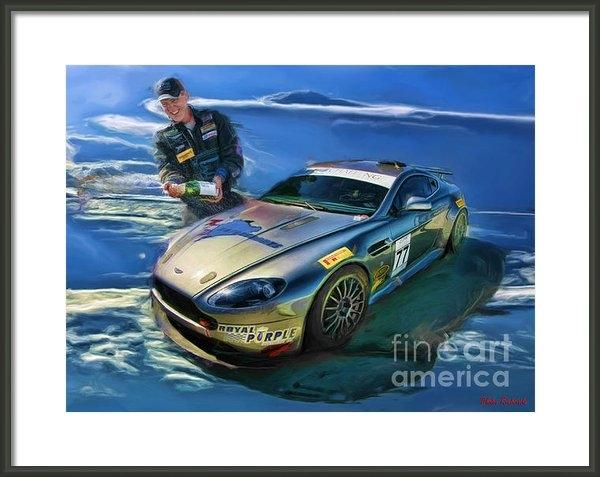 Blake Richards - Aston Martin A Good Day Print