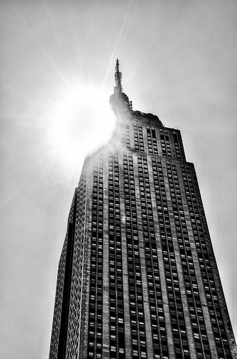 Bill Cannon - Sun Over the Empire State... Print