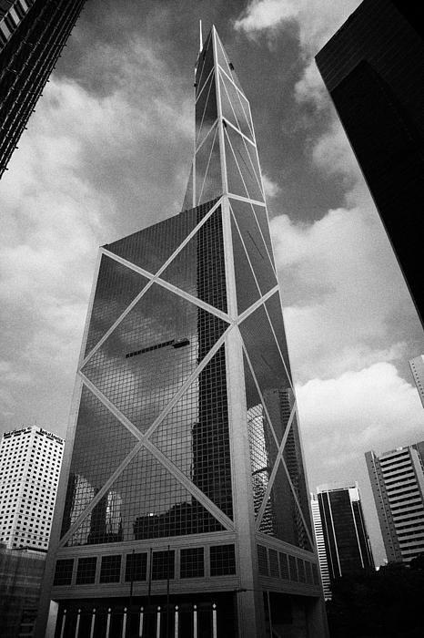 Joe Fox - Bank Of China Tower Build... Print