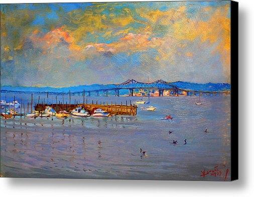 Ylli Haruni - Boats in Piermont harbor ... Print