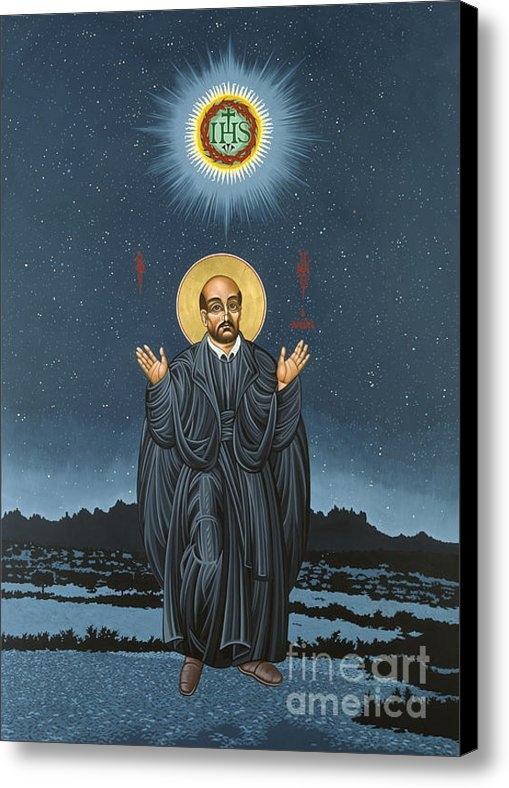 William Hart McNichols - St. Ignatius in Prayer Be... Print