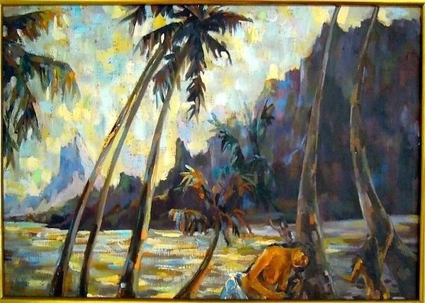 Shirl Solomon - Tahiti Print