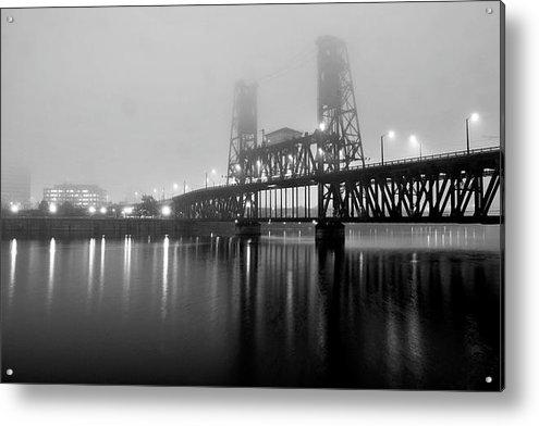 Brian Bonham - Steel Bridge Print