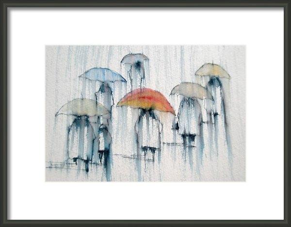 Lisa Schorr - Rainy Day no. 95 Print