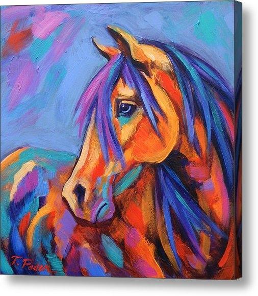 Theresa Paden - Blue Eyed Beauty Print