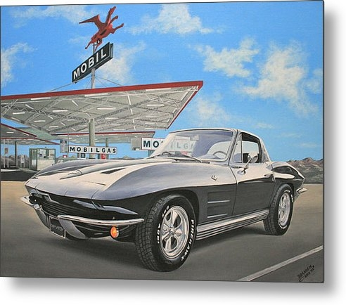 Branden Hochstetler - 1964 Corvette Print