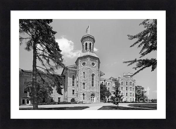 University Icons - Wheaton College Blanchard... Print