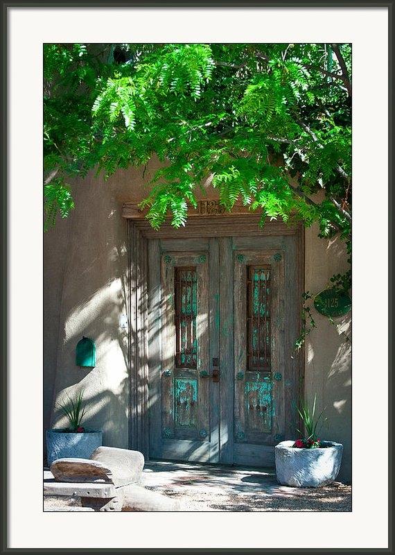 David Patterson - Santa Fe Door Print