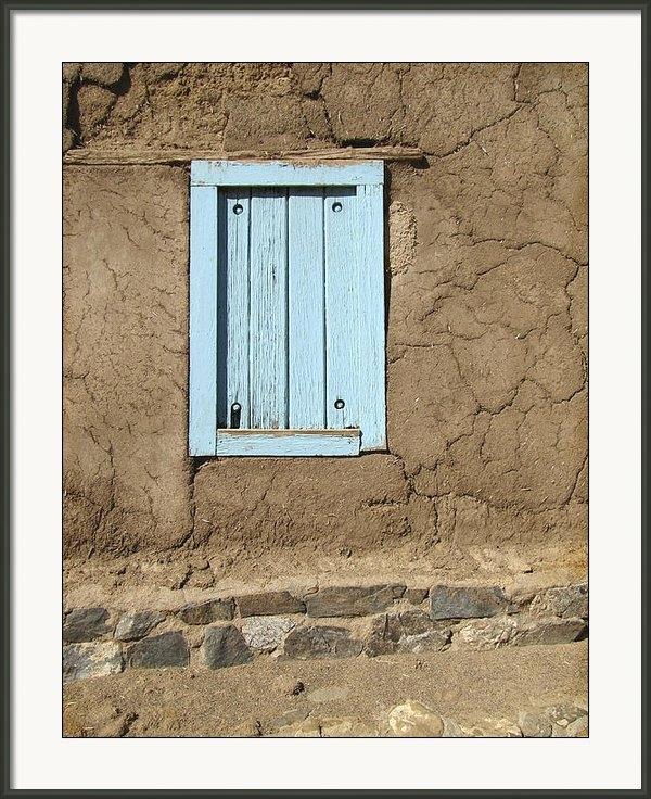 Ann Powell - Taos Blue Window  Print