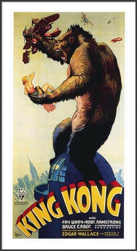 Movie Poster Prints - King Kong  Print