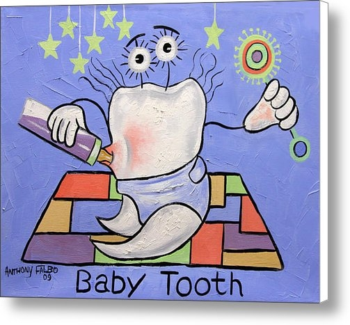 Anthony Falbo - Baby Tooth Print
