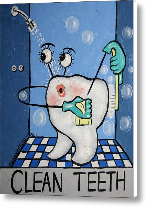 Anthony Falbo - Clean Tooth Print