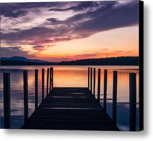 Steven Campbell - Lake Winnipesaukee Sunris... Print