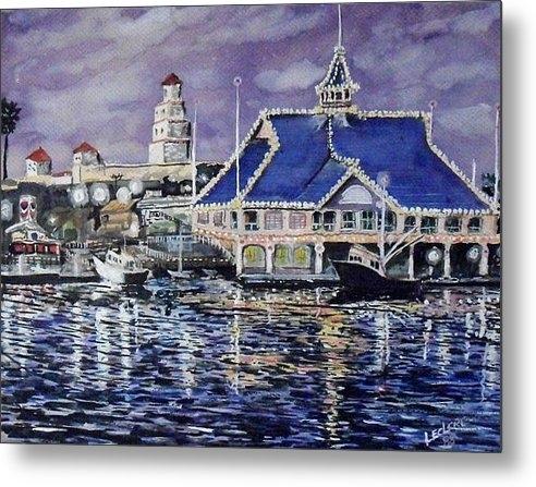John Leclerc - Pavillion Newport Beach 1... Print