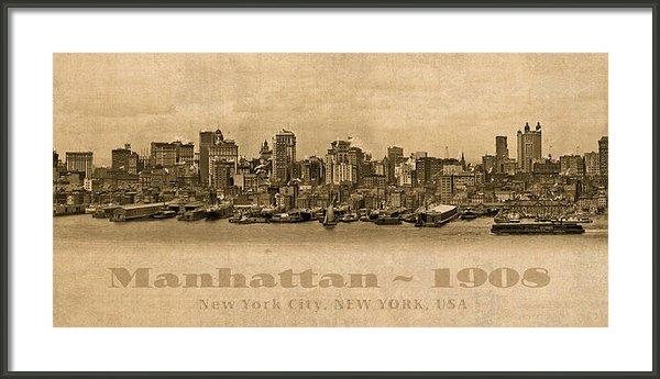 Design Turnpike - Manhattan Island New York... Print