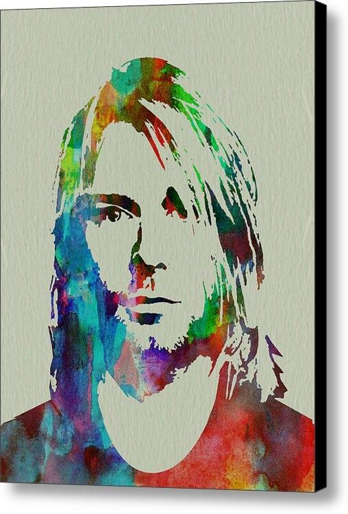 Irina  March - Kurt Cobain Nirvana Print