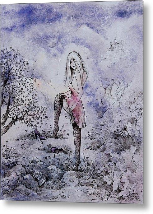 Rachel Christine Nowicki - Purple Pumps and a Fairy ... Print