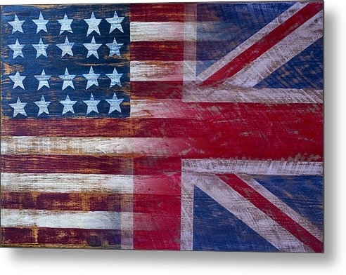Garry Gay - American British Flag Print