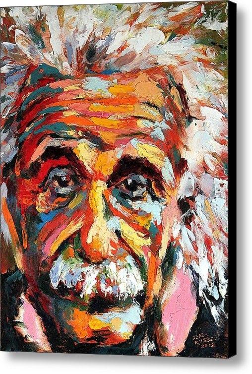 Derek Russell - Albert Einstein Print