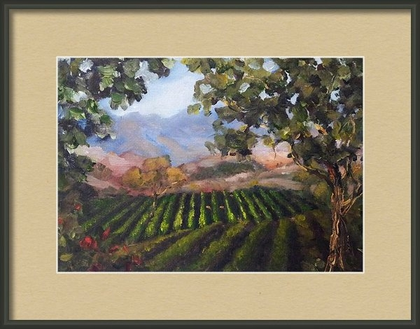 Kat  Tatz - Napa Valley Print